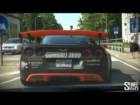 Gumball 3000 2013: Seriously loud supercharged Corvette
