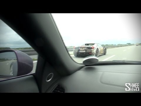 House Cartu Flybys – F12 Berlinetta and Novitec 458 Spider
