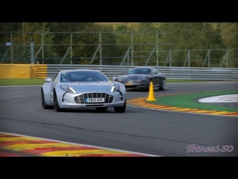 Aston Martin One-77 RIDE on Track