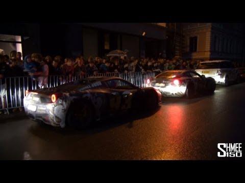 House Cartu arrive in Riga, Latvia – F12, 458 and Phantom