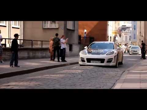 Gumball 3000 cruise in Tallinn Old town (Estonia) 2013.