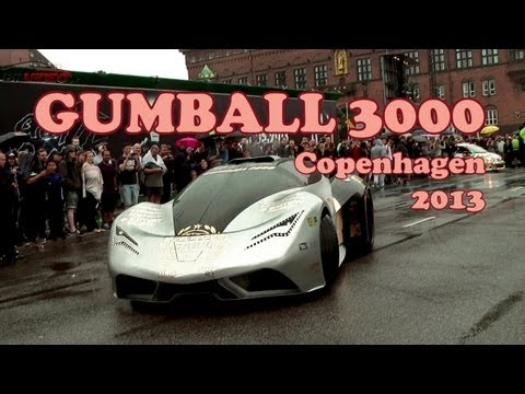 GUMBALL 3000 – 2013 – Start Copenhagen – Cool cars.