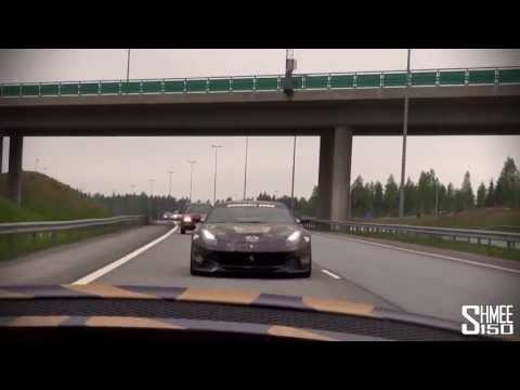 Shmee150 – Gumball 3000 2013 – Turku to Helsinki with House Cartu