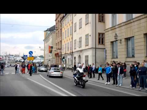 Car enthusiasts @ Gumball 3000 2013 Stockholm