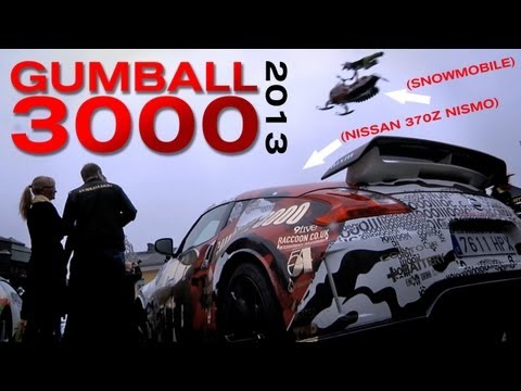 GUMBALL 3000, 2013: THE MOVIE – WITH THE NISSAN 370Z NISMO AND NISMO.TV