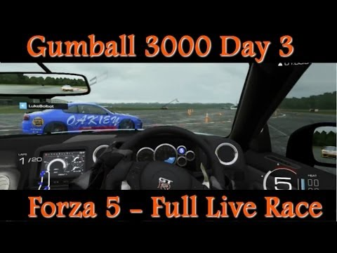 Forza 5 – Gumball 3000 Day 3 with Stella Stig