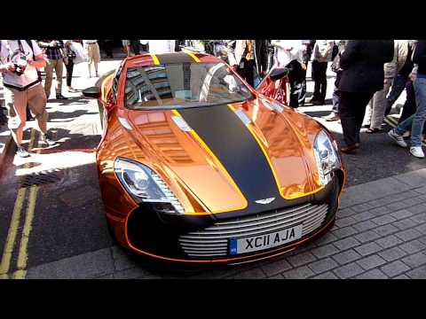 Gumball 3000 2011 – Aston Martin One-77 – London