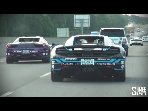 Ballin' from Miami to Atlanta – Team Wolfpack, Daytona and Cops Gumball 2014 Day 1