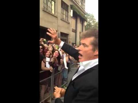 David Hasselhoff – See you in Edinburgh