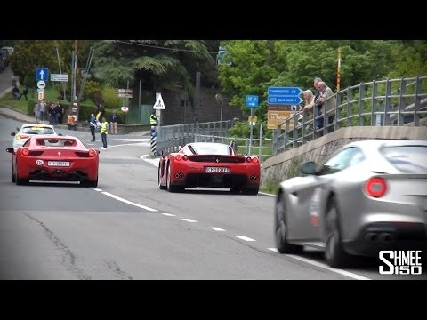 Ferrari Flybys – Enzo, F40, Speciale, F12 (and following a LaFerrari)