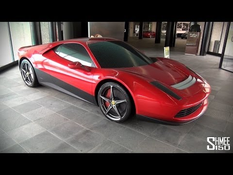 Pininfarina Showroom Tour – Ferrari SP12-EC, Sintesi and more