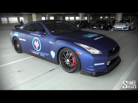 Shmeemobile in the USA! 700hp Nissan GT-R for Gumball 3000 2014