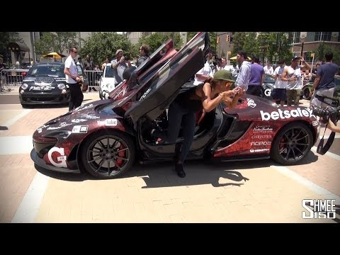 EVE Drives the McLaren P1 – Gumball 3000 2014