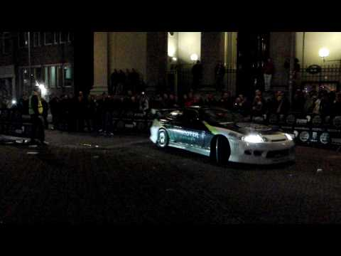 Gumball 3000 2010 Amsterdam – Broken spoiler and awesome Drift!