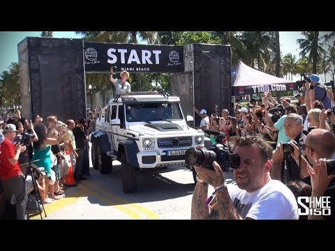 The Complete Start of the 2014 Gumball 3000 Supercar Rally