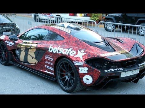 McLaren P1 debut – 2014 Gumball 3000 Miami – Deadmau5