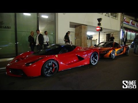 LaFerrari and McLaren P1 – Comparison Parked Together