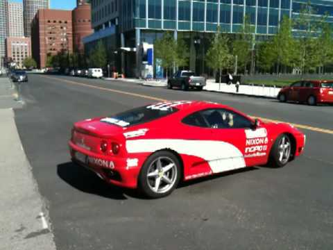 2010 Gumball 3000 – London to New York (Boston) – Ferrari 360 Modena