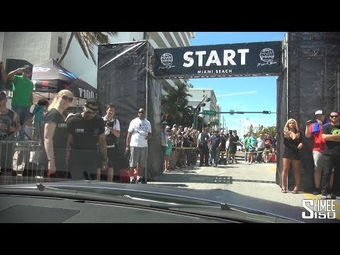 Crossing the Start Line for the 2014 Gumball 3000