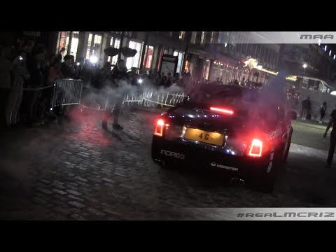 Gumball 3000 2014 Arrival in New York! Audi R8 – Fisker Karma & More!
