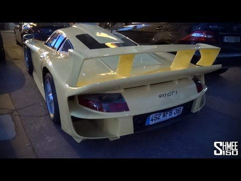 Porsche 911 GT1 – Spotting in Cannes, One of Twenty-Five