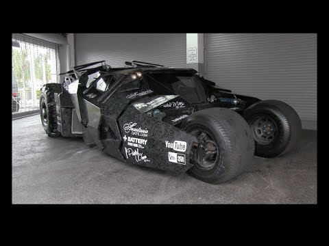Batman Tumbler In Depth Tour At The 2014 Gumball 3000