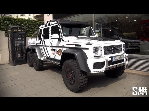 Gumball 3000 2014: Brabus 6×6 700 – Team Masters of Speed