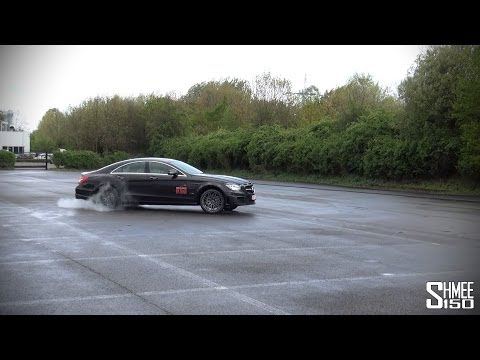 Brabus CLS 850 – Powerslides and Burning Rubber