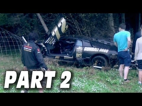 GUMBALL 3000 SUPERCAR CRASH! – Dudesons Do Gumball Rally PART 2