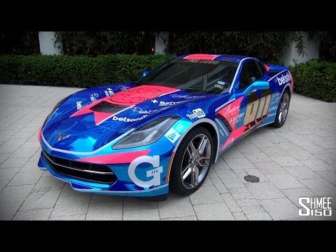 Gumball 3000 2014: Chrome Blue Corvette Stingray