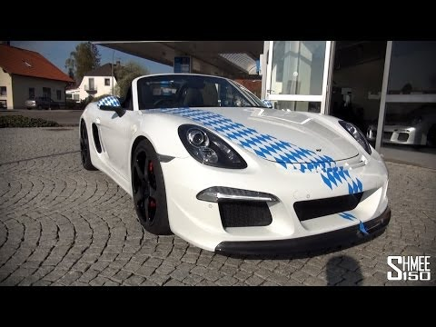 RUF 3800 S – A Boxster with a 911 Engine – Drive and Revs