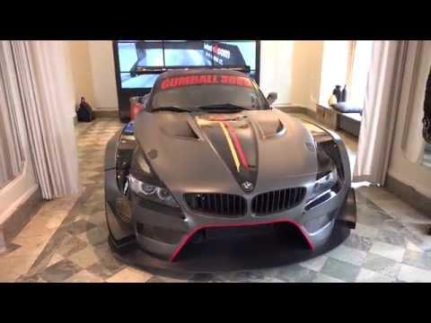4k Gumball 3000 BMW Z4 GT3 for Jens Byggmark