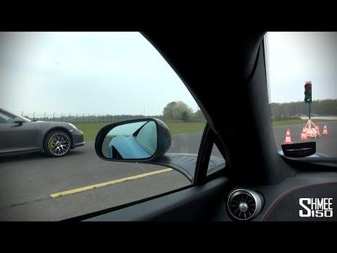 McLaren 12C versus Porsche 991 Turbo S Drag Race