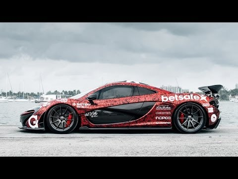 The McLaren P1 of Team Galag – Gumball 3000 2014