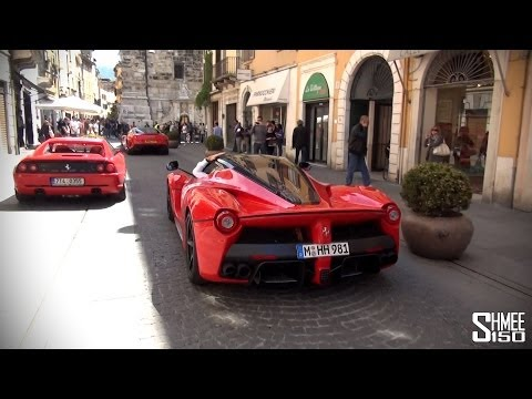 2x LaFerrari, Enzo, GTO, Speciale – Start of the Ferrari Tribute