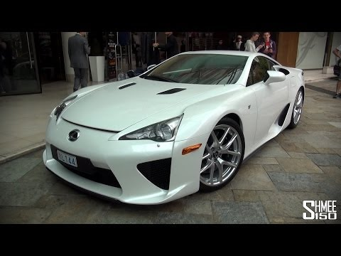Lexus LFA – V10 in the Monaco Formula 1 Tunnel