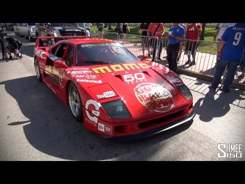 Full Grid Walk for the 2014 Gumball 3000 Supercar Rally