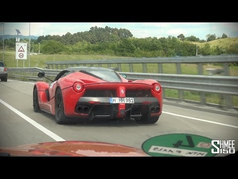 Chasing a LaFerrari in a Jaguar F-Type R