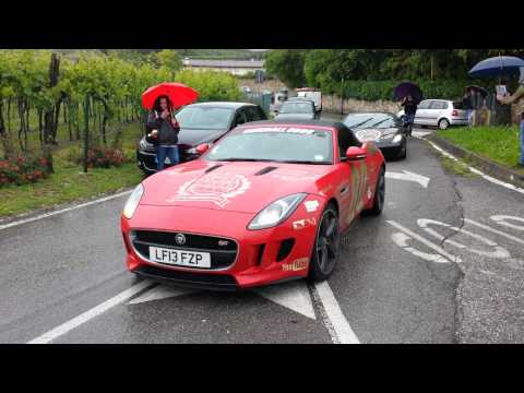 New Jaguar F-Type Spotted At Gumball 3000