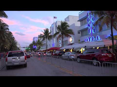 4k Starting Grid Gumball 3000 South Beach Miami to Ibiza 2014