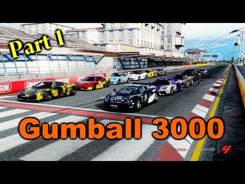Forza Motorsport 4: Gumball 3000 2013  Part 1