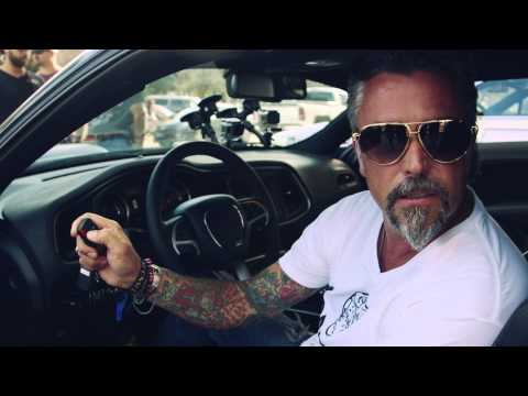 Richard Rawlings and his 2015 Dodge Challenger – Gumball 3000 2014