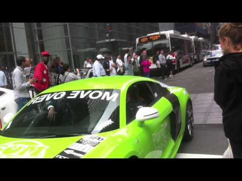 GUMBALL 3000 2012 LEAVING NEW YORK CITY