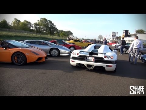 Goodwood Supercar Sunday – 2x F1 GTR, K'egg, Zonda, Enzo, LFA