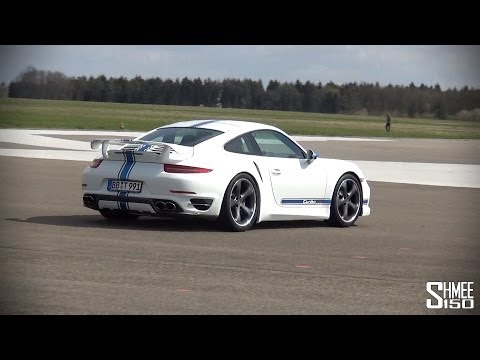 TechArt 911 Turbo S – Accelerations on a Runway