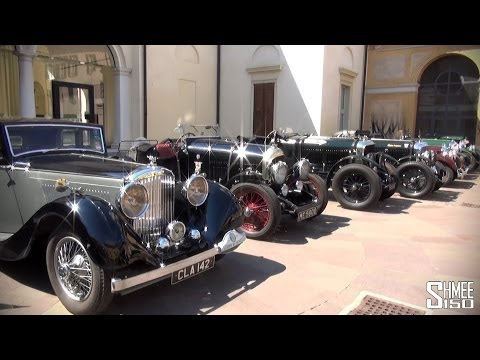 Bentley Motor Cars in Brescia for Mille Miglia 2014 – 4.5l 'Blower'