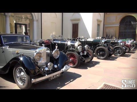 Bentley Motor Cars in Brescia for Mille Miglia 2014 – 4.5l 'Blower'