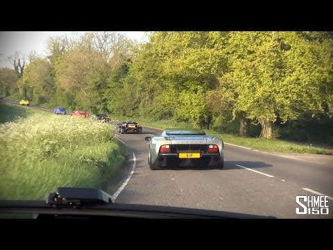 Convoying to Goodwood – K'egg CCX, XJ220, Performante etc