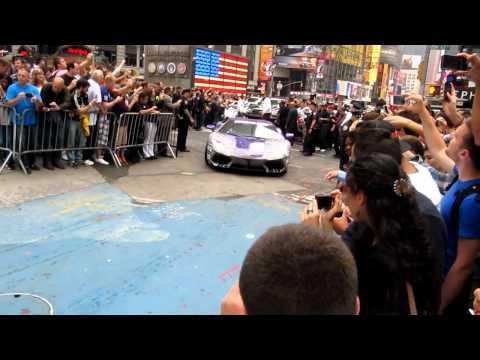 GUMBALL 3000 – Mai 2012 – Départ de Times Square à New-York 4 de 6