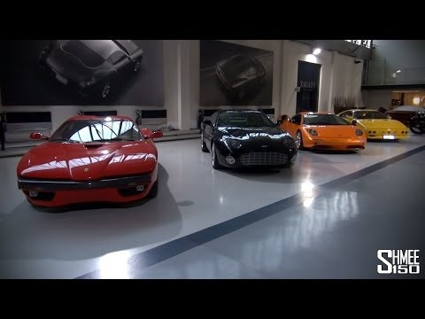V12 Zagato, Carrera GTZ, DB7 Zag – Zagato Showroom Tour